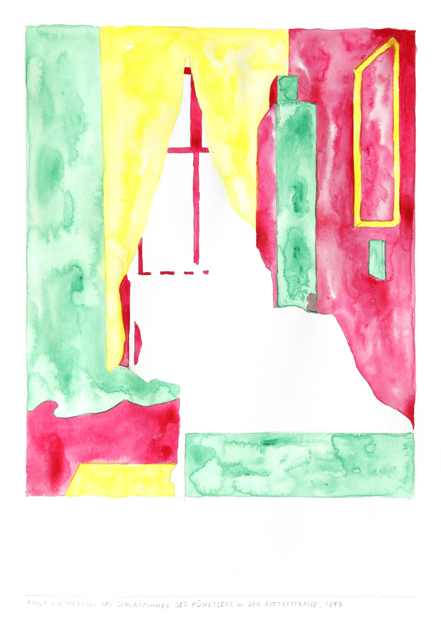 Manfred_Naescher__Adolf_von_Menzel_Das_Schlafzimmer_des_Kuenstlers_in_der_Ritterstrasse_1847--Watercolor_on_Paper_40x30cm_2015_Photo_by_Ana_Petrovic.jpg